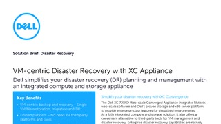 Solution brief vm centric disaster recover with xc appliance.pdf thumb rect large320x180