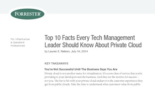 Research forrester report top 10 facts every tech  management leader should know about private cloud.pdf thumb rect large320x180