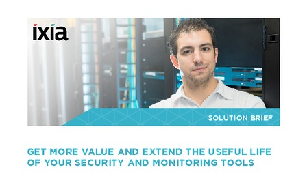 Solution brief   get more value and extend the useful life of your security and monitoring tools.pdf thumb rect larger