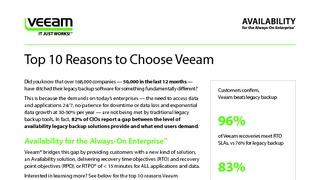 Veeam top 10 reasons choose veeam 9 5 en.pdf thumb rect large320x180