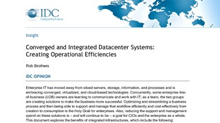 Converged and integrated datacenter systems   creating operational efficiencies.pdf thumb rect large320x180