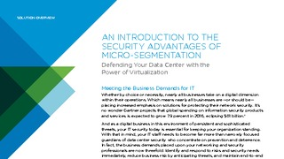 An introduction to the security advantages of micro segmentation.pdf thumb rect large320x180