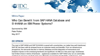 Who can benefit from sap hana database and s 4hana on power.pdf thumb rect large320x180
