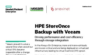 Hpe and veeam solution brief hpe storeonce backup with veeam anexinet.pdf thumb rect large320x180