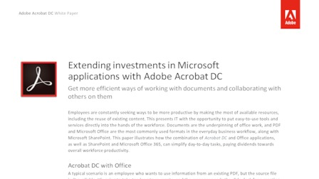 Adobe extending investments in microsoft applications with adobe acrobat.pdf thumb rect larger