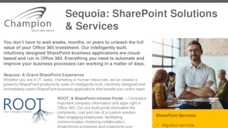 Sequoia sharepoint solutions and services brochure.pdf thumb rect large320x180