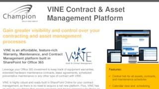 Vine content and asset management sharepoint brochure.pdf thumb rect large320x180