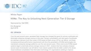 Idc nvme the key to unlocking next gen tier 0 data storage.pdf thumb rect large320x180
