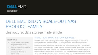 Dell emc isilon scale out nas product family.pdf thumb rect large320x180