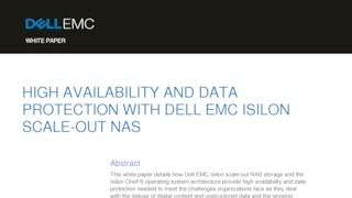 High availability and data protection with dell emc isilon scale out nas.pdf thumb rect large320x180