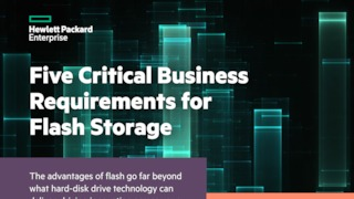 Five critical business requirements for flash storage.pdf thumb rect large320x180