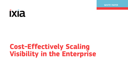 Cost effectively scale visibility in the enterprise wp.pdf thumb rect larger