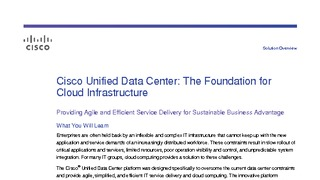Cisco Unified Computing System (UCS) - Portland, United