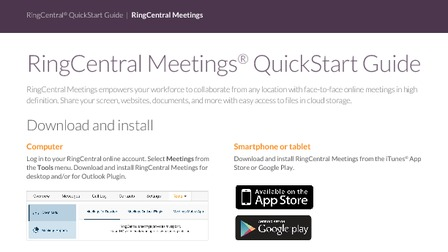 Ringcentral Phone Desktop App