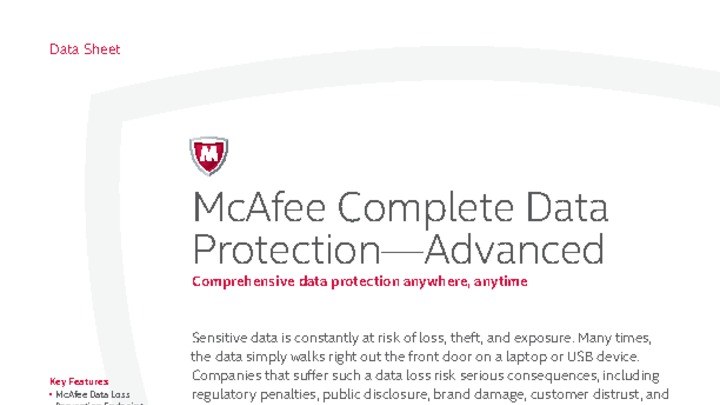 Complete Data Protection—Advanced - Austin, United States of