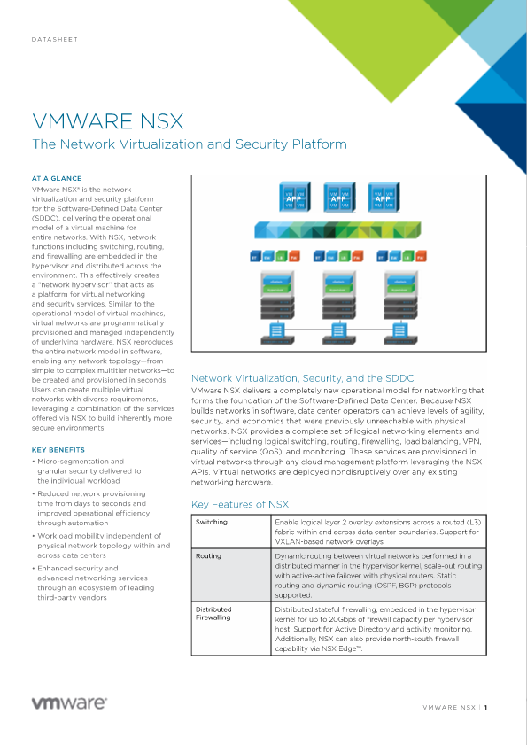 VMware NSX - Tualatin, United States of America | Xiologix