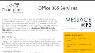 Modern Workplace: Office 365 & EMS - Boca Raton, United