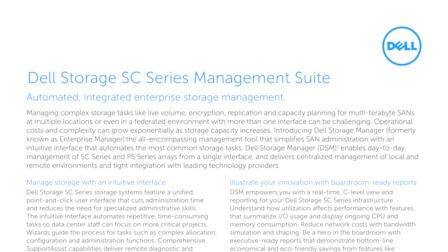 Dell Storage SC Series / Compellent - Austin, United States of