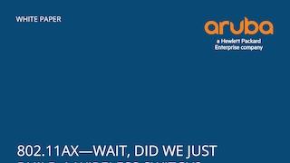 Aruba 802 11ax - Lone Tree, United States of America