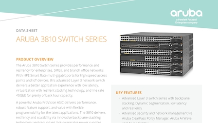 Aruba Intelligent Edge Switches - Lone Tree, United States