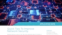 App note   quick tips improve network security.pdf thumb rect large