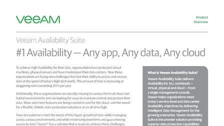 Veeam Availability Suite - Stamford, United States of