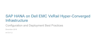 Sap hana on dell emc vxrail hyperconverged infrastructure.pdf thumb rect large320x180