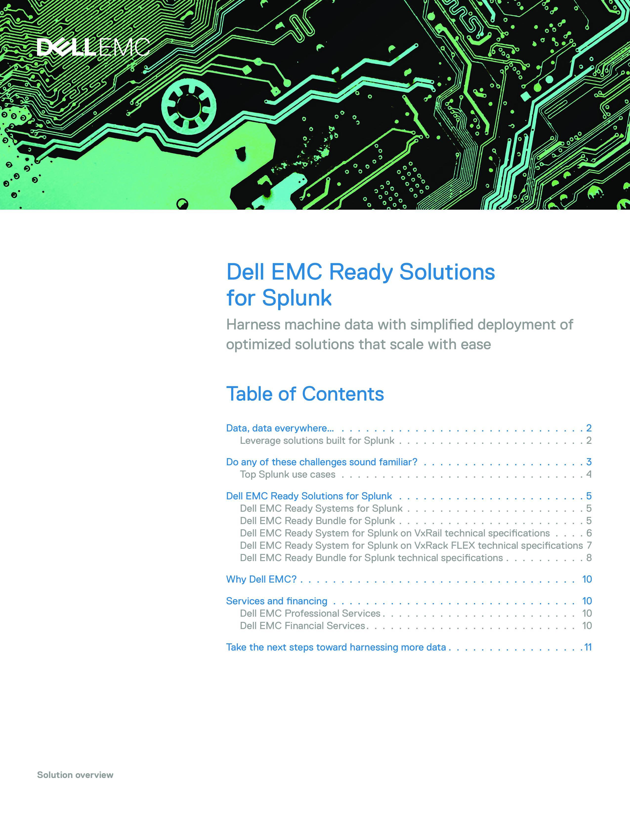Dell EMC VxRail for Splunk - | InXero Demo BusinessLive