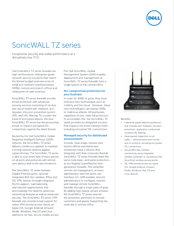 Dell SonicWALL Showcase - Irvine, United States of America